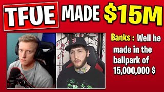 Tfue Made $15,000,000 Confirmed by Faze Banks Interview! Cattus (SNOW MONSTER) Leaked Files Fortnite