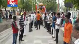 પાલનપુર-રામ સેવા સમિતિ દ્વારા ભવ્ય શોભાયાત્રા નીકળી