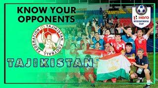 Know Your opponents- Tajikistan
