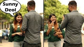Cute Girls Saying Bollywood Dialogues Prank | Pranks In India | Unglibaaz