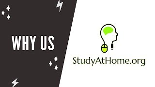 What Makes Us Most Trusted e-Learning Platform | www.StudyAtHome.org