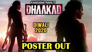 Kangana Ranauts DHAAKAD | First Look Poster Out | REACTION | REVIEW