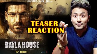 Batla House Teaser Reaction   John Abraham   Mrunal Thakur   Trailer Out On 10th July