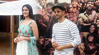 Super 30 Movie Promotion | Hrithik Roshan And Mrunal Thakur Spotted At Sun & Sand Juhu