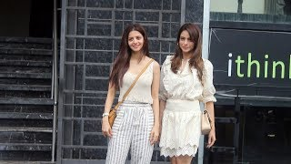 Vedhika Kumar Along With Aamna Sharif Spotted At Indigo Restaurant Juhu