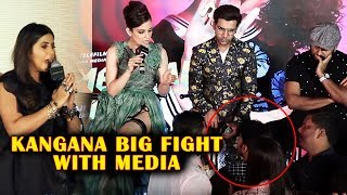 Kangana Ranaut BIG FIGHT With Media Journalist For Writing Against Her Judgementall Hai Kya Event