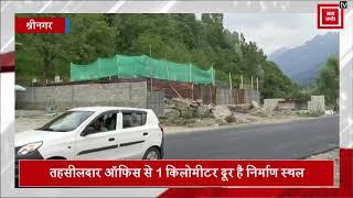 श्रीनगर-लेह NH पर उड़ीं HC के आदेशों की धज्जियां, प्रतिबंध के बावजूद भी चल रहा काम