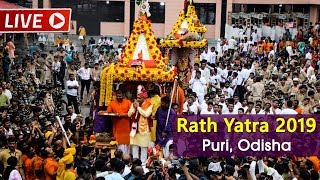 Watch Live! | Jagannath Rath Yatra 2019 Live from Puri | Car Festival | Satya Bhanja