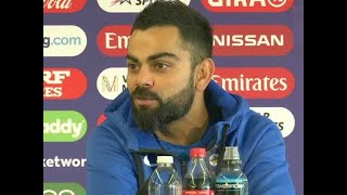 We're confident, relaxed: Virat Kohli ahead of CWC 2019 semi-final