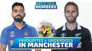 Semi-Final 1, India vs New Zealand - Let's Talk Numbers