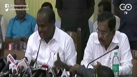 कर्नाटक में कांग्रेस-जेडीएस सरकार पर खतरा