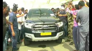 Pawan Kalyan In Vijayawada Airport Rally to Ap Secretariat