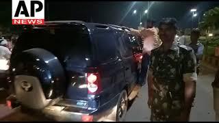 Police Release Vangaveeti Radha vangaveeti ratna kumari Night Rally To Vijayawada