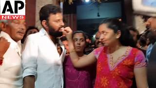 YSRCP Mla kodali nani daughters participate birthday #celebrations || ap news online entertainment