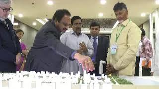 Chandrababu Naidu Visit Amaravati Design | ANDHRA PRADESH | CRDA