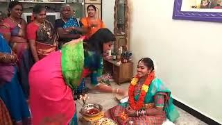 రోజా మేన కోడలు పెళ్లి కూతురు కార్యక్రమం | MLA Roja Menas daughter is a bride's daughter program