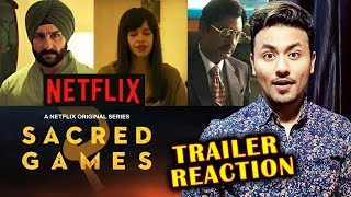 Sacred Games Season 2 Trailer Reaction | Netflix | Saif Ali Khan, Nawazuddin Siddiqui