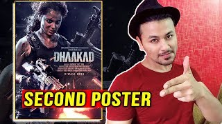 Kangana Ranauts DHAAKAD | Second Poster Out | REACTION | REVIEW