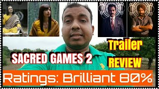 Sacred Games 2 Trailer Review