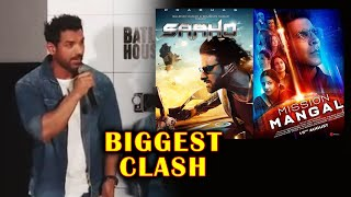 John Abraham Reaction On Batla House Clash With Saaho And Mission Mangal