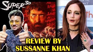 SUPER 30 Review By Hrithik Roshans Wife Sussane Khan