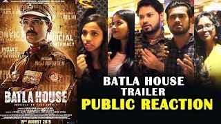 Batla House Trailer | PUBLIC REACTION | John Abraham | Mrunal Thakur | Nora Fatehi