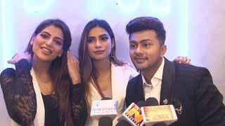 Tik Tok Star Nagma And Awez At Launch Of Be You Academy