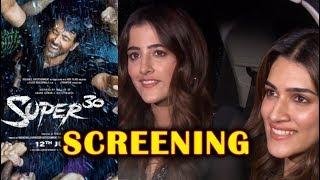Hrithik Roshans SUPER 30 Special Screening | Kriti Sanon, Sangeeta Bijlani, Nupur