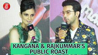Kangana Ranaut And Rajkummar Rao ROAST Each Other In PUBLIC