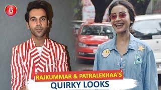 Rajkummar Rao & GF Patralekhaas Quirky Looks Atdgementall Hai Kya' Song Launch