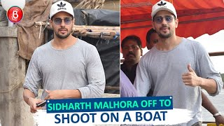 Jabariya Jodi Star Sidharth Malhora Off To Shoot On ABoat