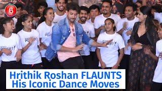 Hrithik Roshan FLAUNTS His Iconic Dance Moves