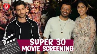 Super 30 Special Screening | Hrithik Roshan | Vikas Bahl | Mrunal Thakur