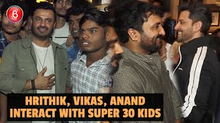 Super 30 Students Break Down After Seeing Hrithik Roshan, Vikas Bahl & Anand Kumar's Film