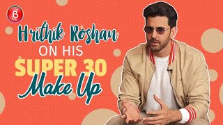 Hrithik Roshan Answers A Fan Question About His Super 30 Make Up