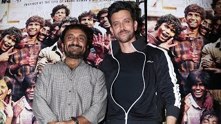 Hrithik Roshan With Mathematician Anand Kumar At SUPER 30 Special Screening