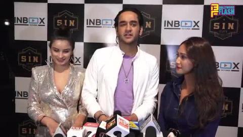 Vikas Gupta With GF Chetna Pande & Krissan Barreto - Varun & Divya's Naam Ada Likhna Song