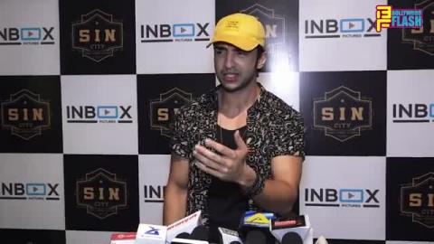 Bigg Boss Fame Rohit Suchanti At Varun & Divya's Naam Ada Likhna Song