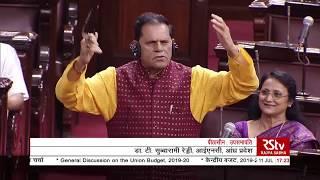 T Subbarami Reddy's Remarks | Discussion on Union Budget 2019-20 in Rajya Sabha