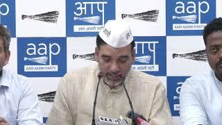 AAP Delhi Convenor Gopal Rai Restructured the AAP Auto Union