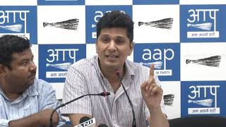 "BJP Has Mocked the fourth Pillar Of Democracy i.e. Media, ""Says ,""AAP Chief Spokesperson"""