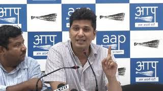 "BJP Has Mocked the fourth Pillar Of Democracy i.e. Media, ""Says ,""AAP Chief Spokesperson"""