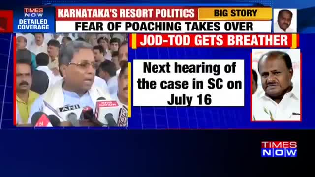 Karnataka crisis We're confident that we will win vote of confidence says Siddaramaiah