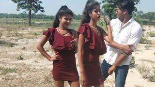 देखिए शूटिंग के दौरान लड़की ने लड़के को खींच कर थप्पड़ मारा।।Bhojpuri song shuting