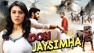 Don Jai Simha Full Hindi Dubbed Action Movie 2019 South Indian Full Romantic Movie Full HD 1080p
