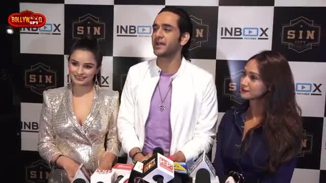 Vikas Gupta And Chetna Pande At Naam Adaa Likhna Song Launch  Divya Agarwal Varun Sood