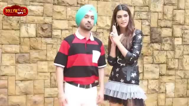 Arjun Patiala Movie Promotion  Kriti Sanon And Diljit Dosanjh