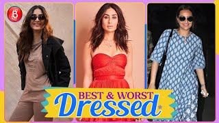 Kareena Kapoor Sonam and Sonakshi Sinha are among the 'Best & Worst Dressed' celebs this week