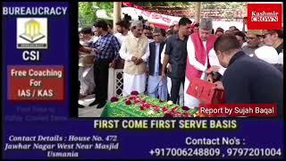 *Kashmir a dispute between India, Pak; should be resolved through dialogue: Farooq*