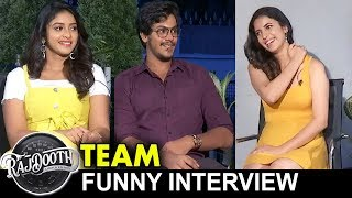 Rajdooth Team Funny Interview || Maghamsh Srihari || Nakshatra || Bhavani HD Movies